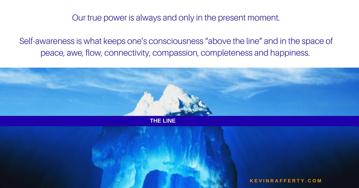 """Living """"Above the Line"""""""