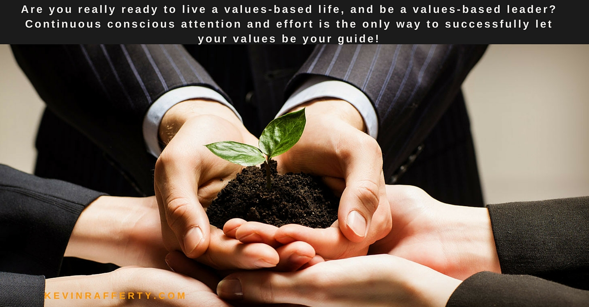 Bringing Values Alive at Work